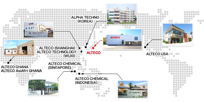 Overseas & Domestic Network | ALTECO INC